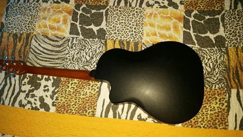 guitarra importada electroacustica stagg !! con ecualizador