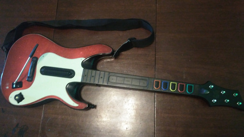 guitarra inalambrica guitar hero xbox 360
