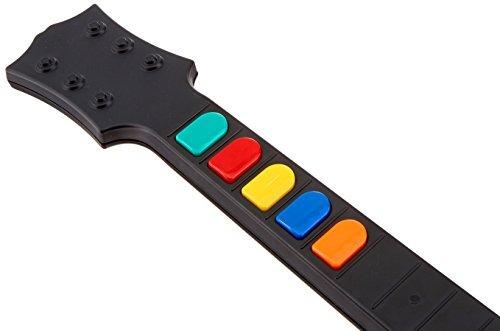 guitarra inalámbrica para wii guitar hero y rock band juegos