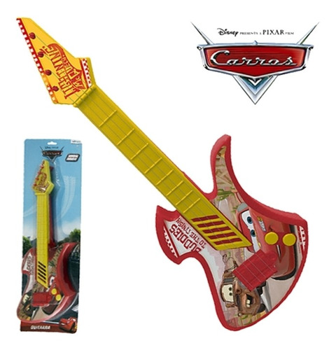 guitarra infantil corda carros disney violao mini musical