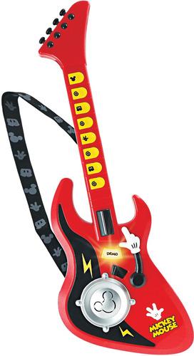 guitarra infantil mickey teclas efectos disney winfun 42dnl