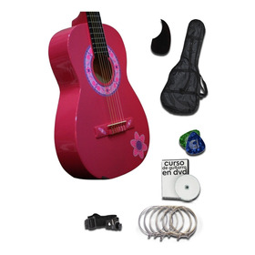 Guitarra Infantil Tercerola Paquete Todo Incluido Curso Dvd