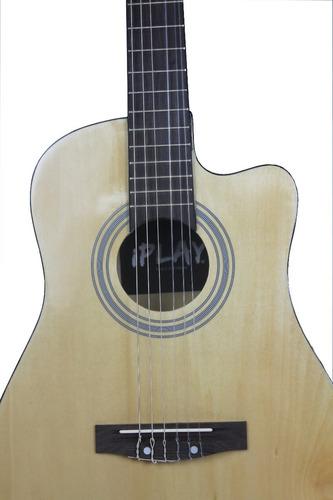 guitarra iplay 3/4 con resaque medida p/niño adolescente