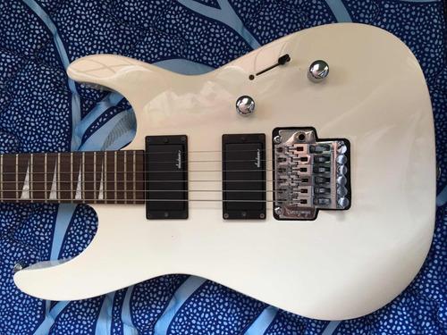 guitarra jackson js32r dinky snow white