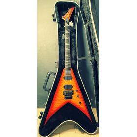 Guitarra Jackson Pro King Transparent Amber Con Estuche