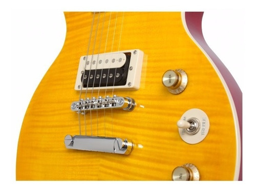 guitarra les paul epiphone special slash signature afinador