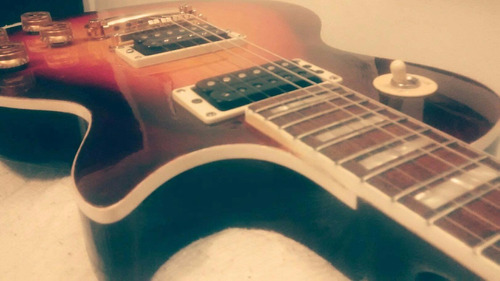 guitarra lespaul  golden estilo 1960  mastil encolado