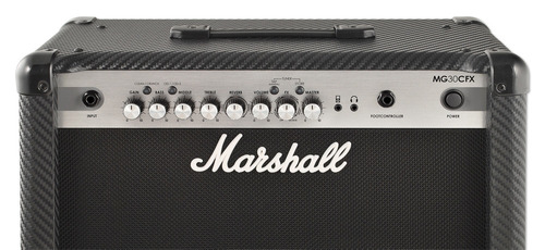 guitarra marshall amplificador