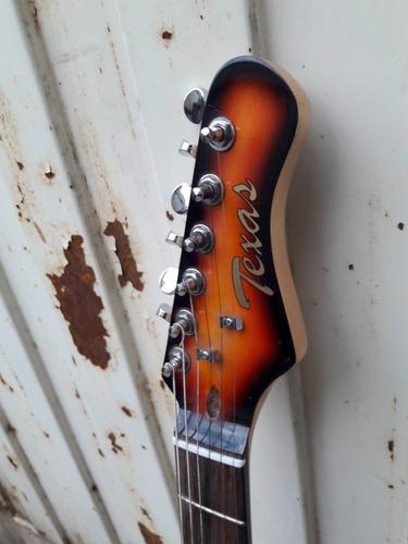 guitarra midland stratocaster + funda envio tarjetas!
