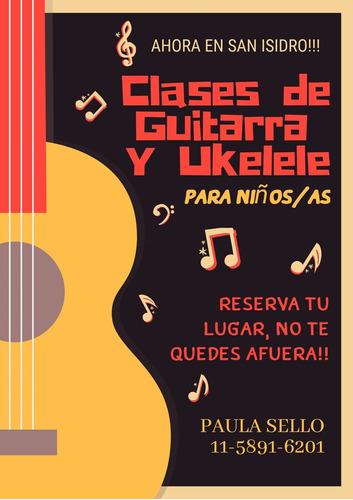 guitarra música clases