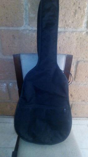 guitarra negra acustica