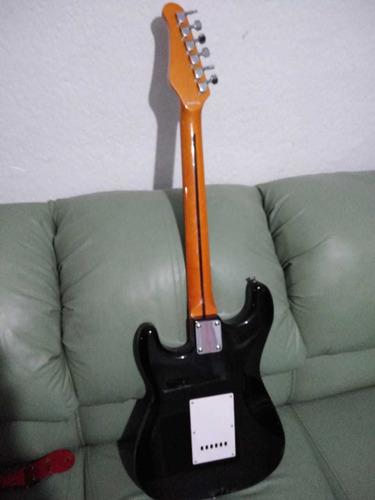 guitarra negra oscar schmidt