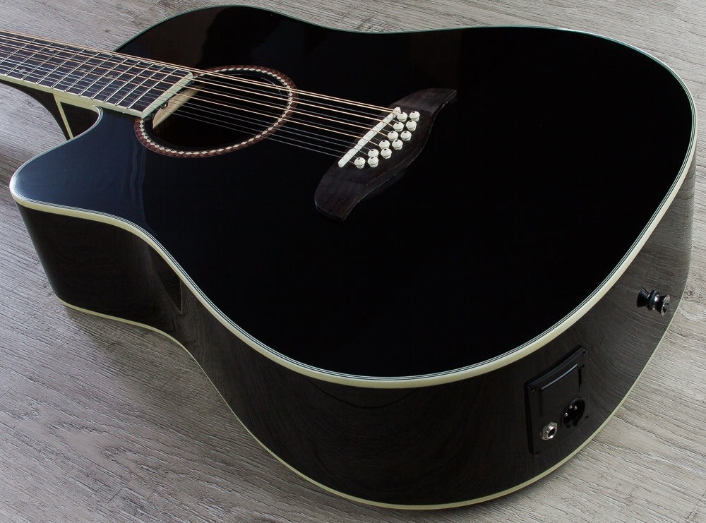 05b7c93facf3 Guitarra Oscar Schmidt 12 Cuerdas Zurda Color Negro - $ 6,500.00 en ...
