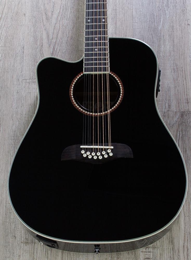Guitarra oscar schmidt 12 cuerdas zurda color negro - Cuerdas de colores ...