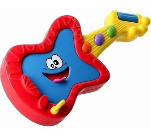 guitarra pim pam pum da estrela brinquedo musical infantil