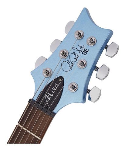guitarra prs se mira - frost blue metallic c/ nota fiscal