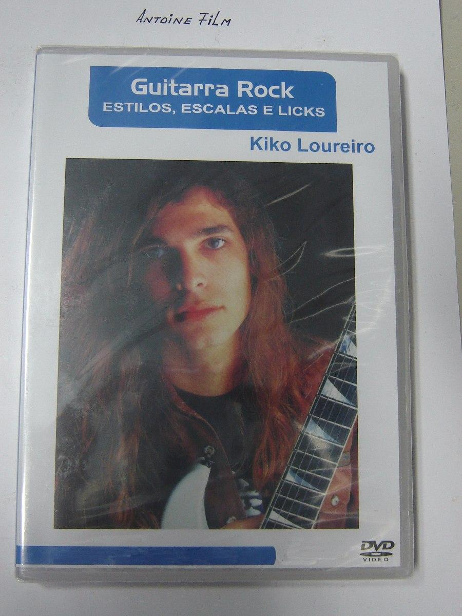 video aula kiko loureiro guitarra rock