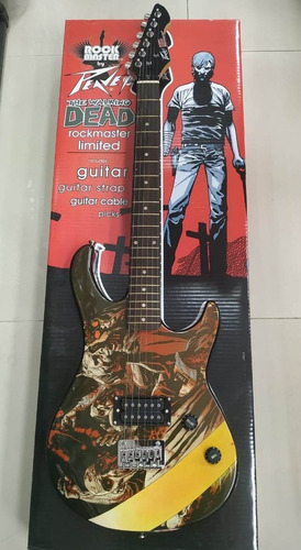guitarra rock master peavey walking dead governor