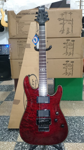 guitarra schecter damien special c/palanca floyd c/mics emg