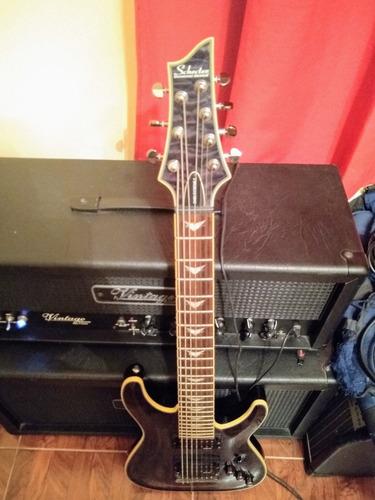 guitarra schecter omen extreme 7