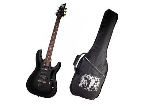 guitarra schecter sgr  c1 floyd rose 24 trastes y forro