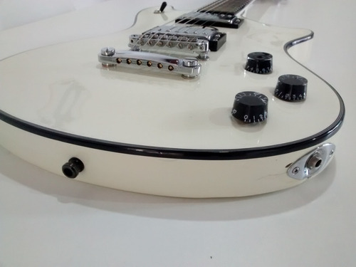 guitarra schecter tempest custom antique white / no permuto