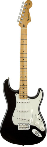 guitarra standard stratocaster® negra fender