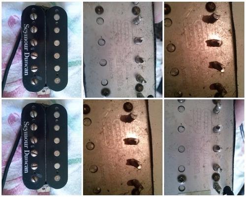 guitarra  t-zero specia seymour duncan jb usa rbn