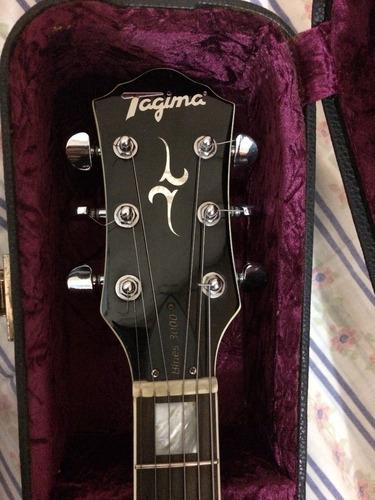 guitarra tagima blues 3000 com case