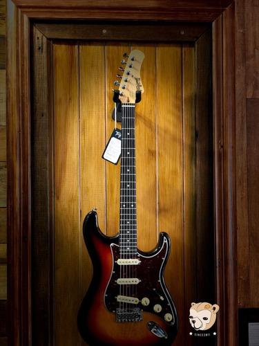 guitarra tagima new t-635 + encordoamento + regulagem sb/whh