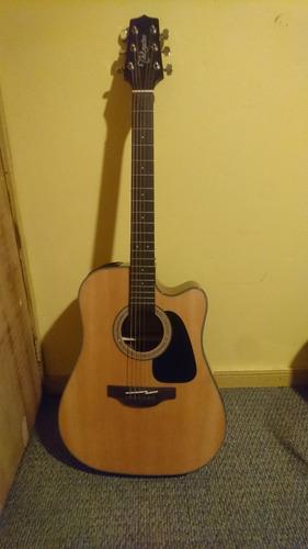 guitarra takamine gd30c-nat+case rockbag