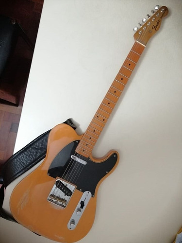 guitarra telecaster decal fender con mic fender