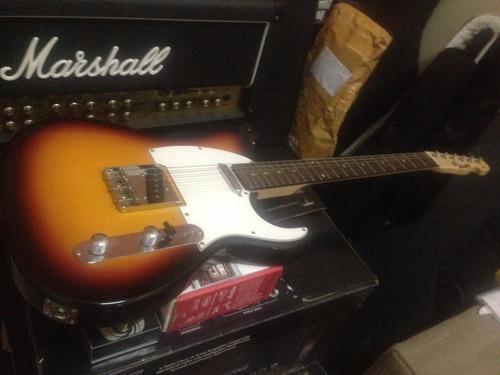 guitarra telecaster tagima memphis mg52 sunburst