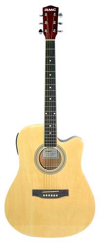guitarra texana electroacústica con corte rmc