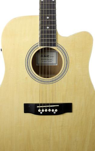 guitarra texana electroacústica rmc c/corte natural