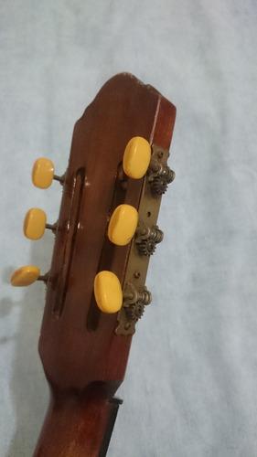 guitarra tipo española antigua hecha en valparaiso