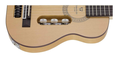 guitarra traveler escape classical escn c/ funda (viajera)
