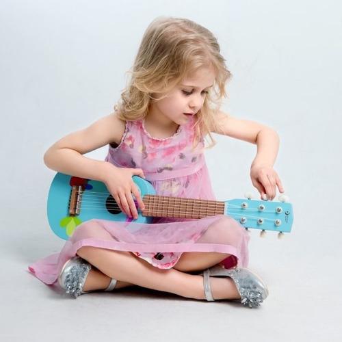 guitarra tucan madera pino classic world original educando