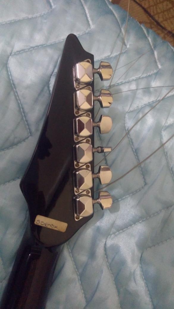 Guitarra Warlock Gmap556, Amplificador E Pedal Groovin