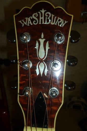 guitarra washburn electroacústica