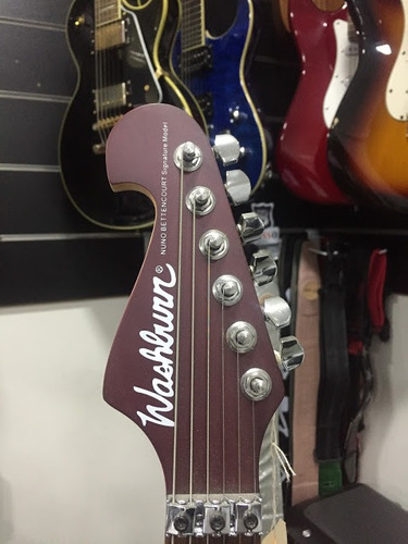 guitarra washburn n-2 com case