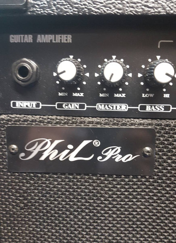 guitarra washburn pro aon y amplificador phil pro mpl-10