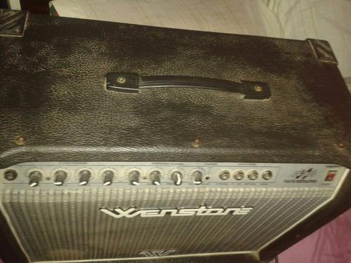 guitarra wenstone amplificador