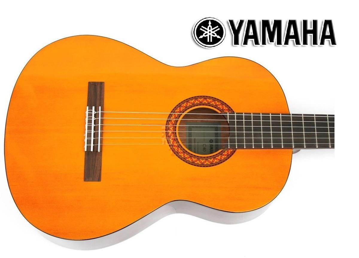 guitarra yamaha c40 acustica clasca s 480 00 en mercado. Black Bedroom Furniture Sets. Home Design Ideas