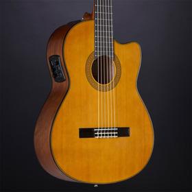 Guitarra Yamaha Cgx122mcc Electroacústica Nylon Tapa Sólida