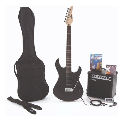 guitarra yamaha combo erg121