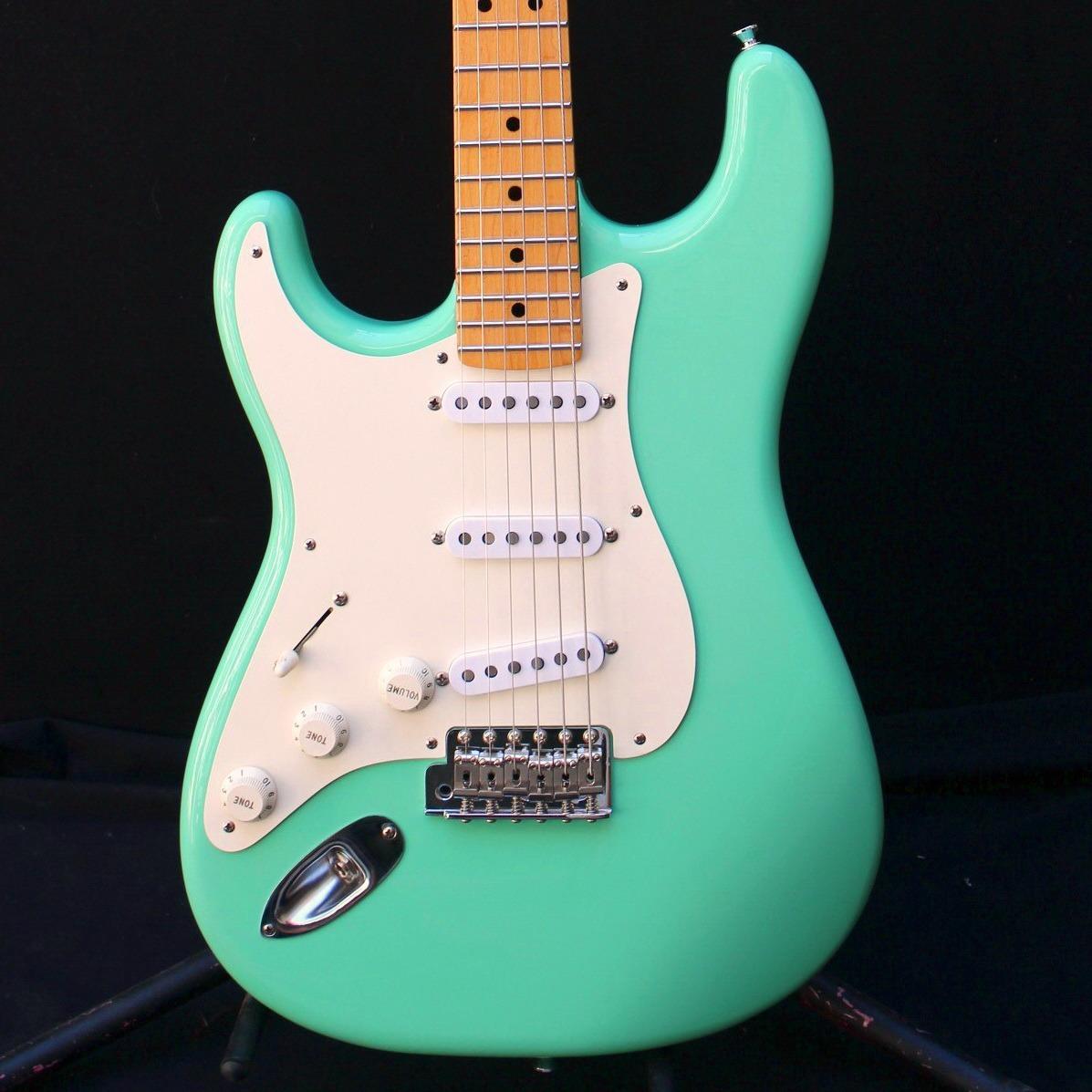 Guitarra Zurda Warmoth Fender Stratocaster 57 Usa Surf Green - $ 96 000,00