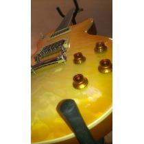 Epiphone Les Paul Guitarra Eléctrica Con Estuche Duro Y Púas