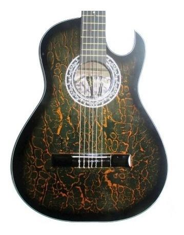 guitarras acusticas aire artesanal cuerdas nylon
