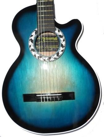 guitarras acusticas aire artesanal forro colgador pua